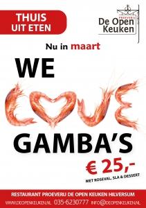 Gamba's restaurant De Open Keuken